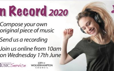 WMS Home Concerts – On Record WMS Composition Invitation