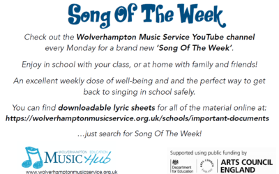 Song of the Week from Wolverhampton Music Service