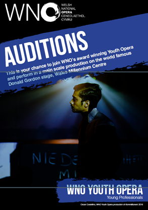 Welsh National Opera Auditions